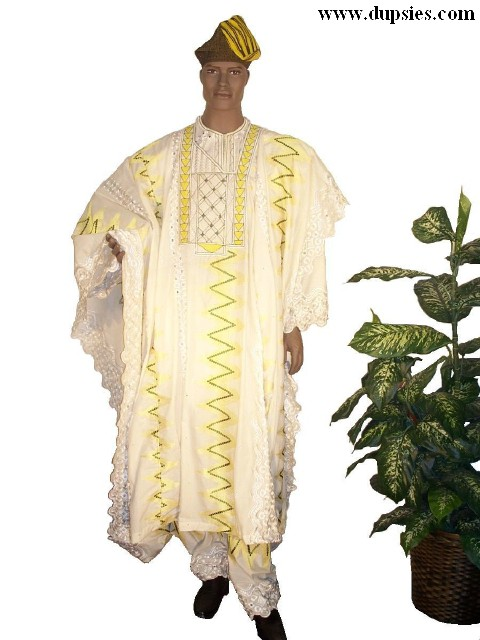 Dupsie's Traditional African clothing, agbada, dashiki